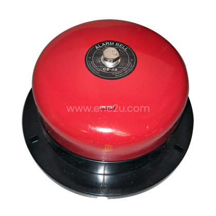 """XGH 4"""" ALARM BELL WITH PLASTIC BASE"""